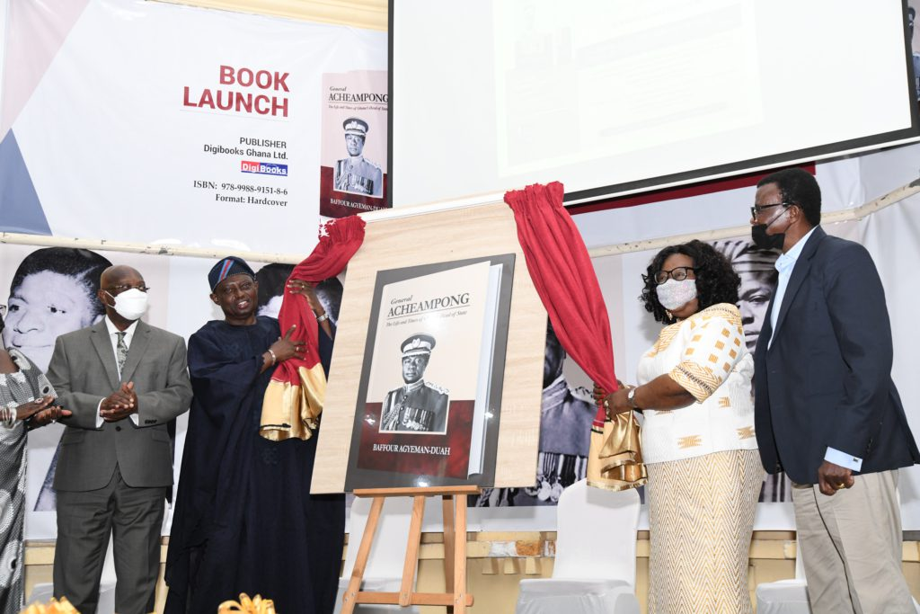 Book on 'Life and Work of General Acheampong' launched on his 90th birthday