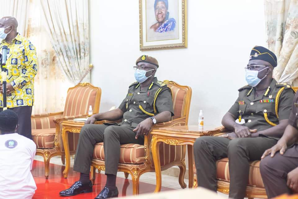 Acting Director-General of prisons pays courtesy call on Asantehene