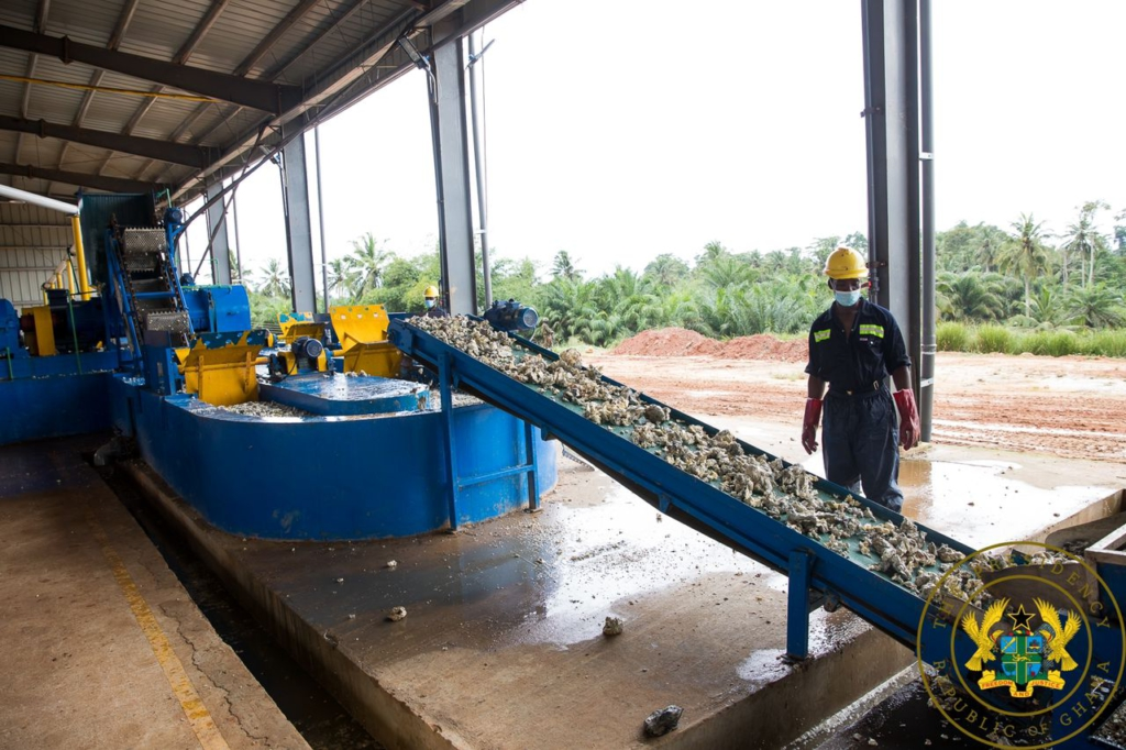1D1F: Akufo-Addo commissions $2.1m rubber processing plant