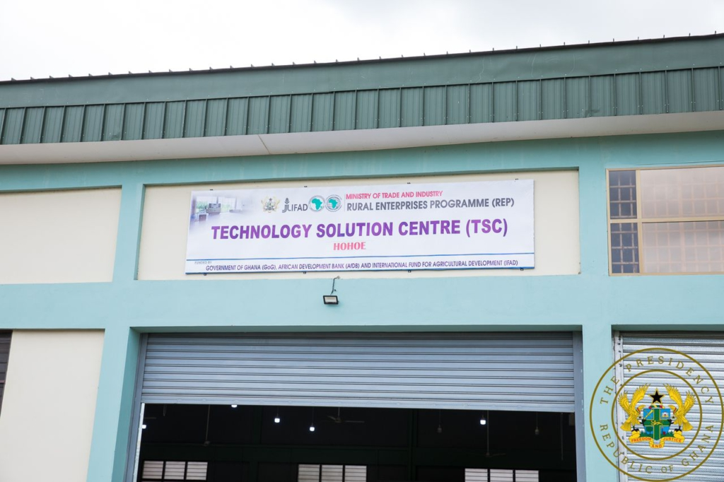 Akufo-Addo commissions ¢6.07m Hohoe Technology Solution Centre