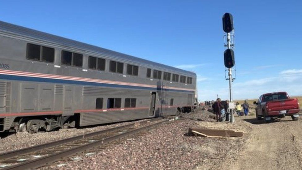 US train derails in Montana, killing 3 and injuring dozens