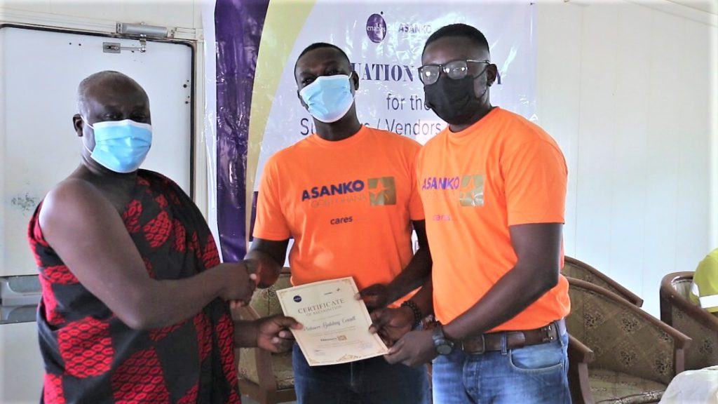 20 local businesses in Amansie Districts get trained by Asanko Gold