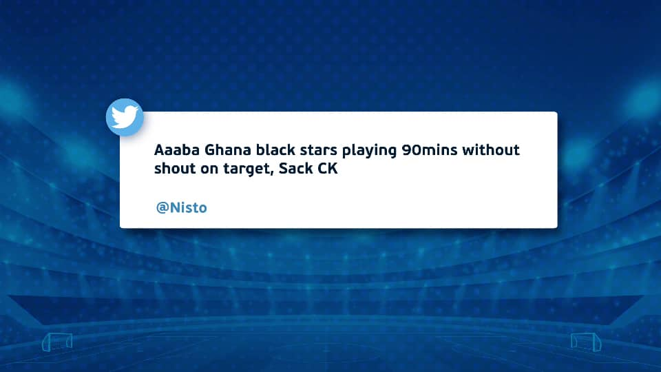 Sack CK still trends on social media as Ghanaians express dissatisfaction with performance