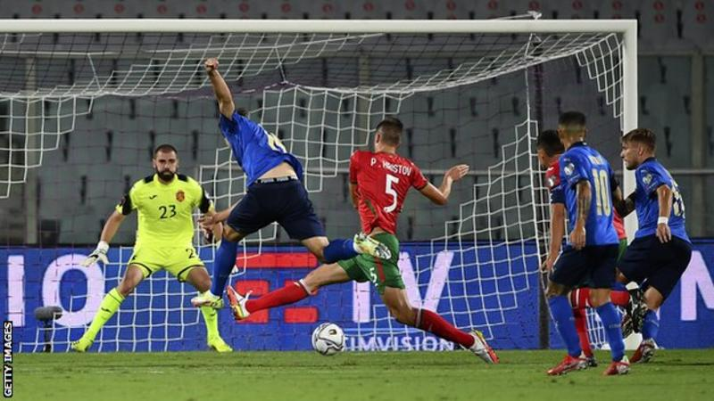 2022 World Cup qualifier: England maintain 100% record, Italy held at home