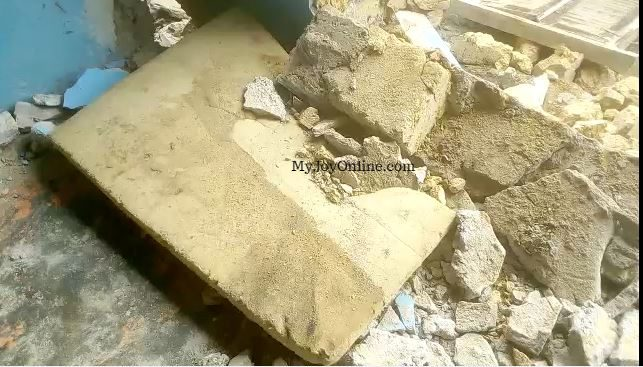 Man dies after building collapsed on him at Bibiani