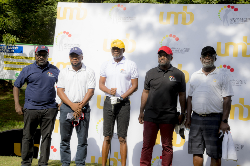 Emos Koblah wins 3rd edition of the Ghana-Centre of the world golf tournament