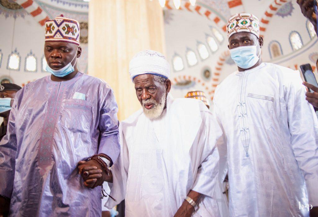 A tour inside Ghana's National Mosque