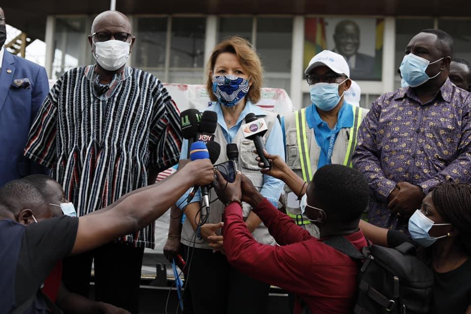 Covid-19: Ghana receives 1.2million doses of Moderna vaccine