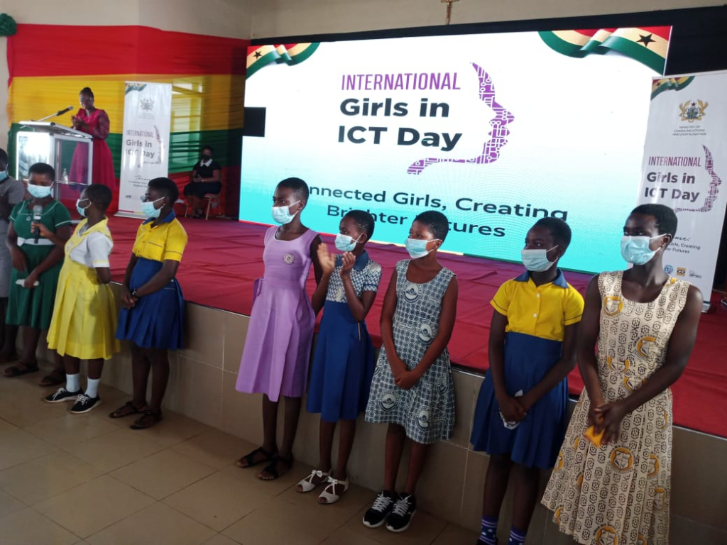 Ministry of Communications and Digitalisation holds mentorship programme for selected girls in Sefwi Wiawso