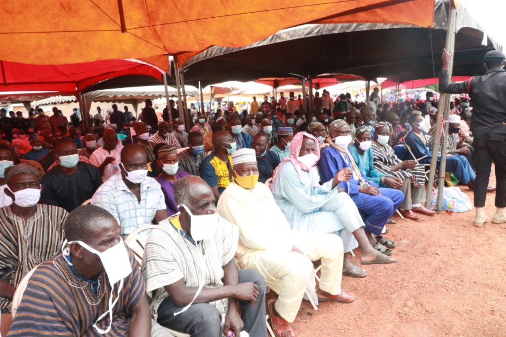 Third-day Islamic prayers held for Dr Bawumia's mother in Walewale
