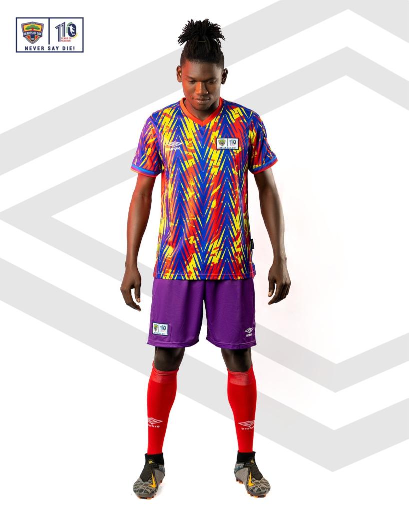 Hearts of Oak unveil new kits for 2021/22 season