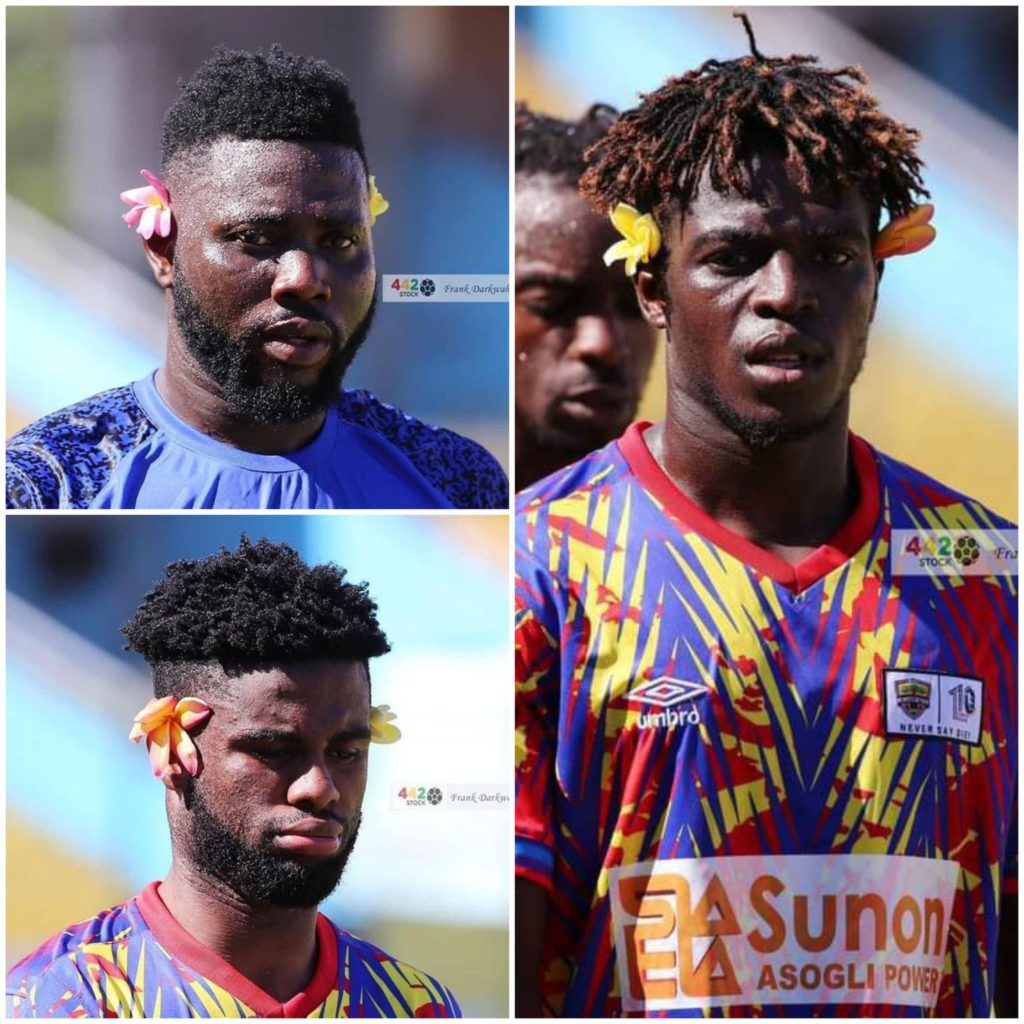 Pictures of Hearts players with flowers before Kamsar game causes stir on social media