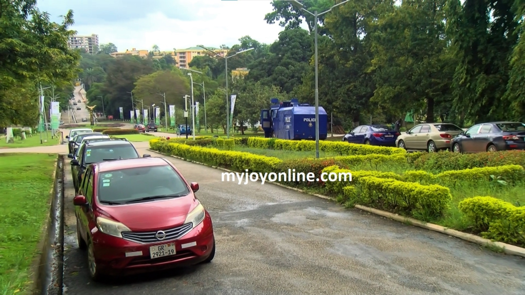 Students of KNUST welcome security beef-up on campus
