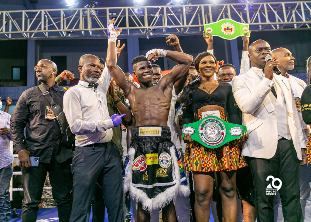 How Lamptey became the WBO's first Youth champion - MyJoyOnline.com