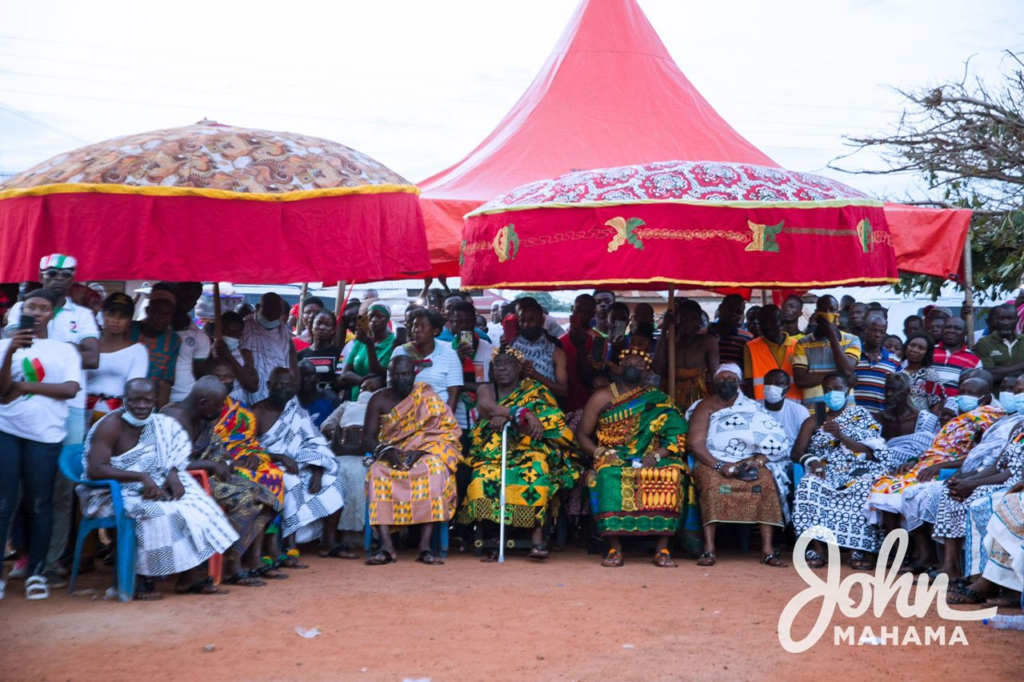 Ignore twisted interpretation of 'do or die' comment - Ashanti chief to Mahama