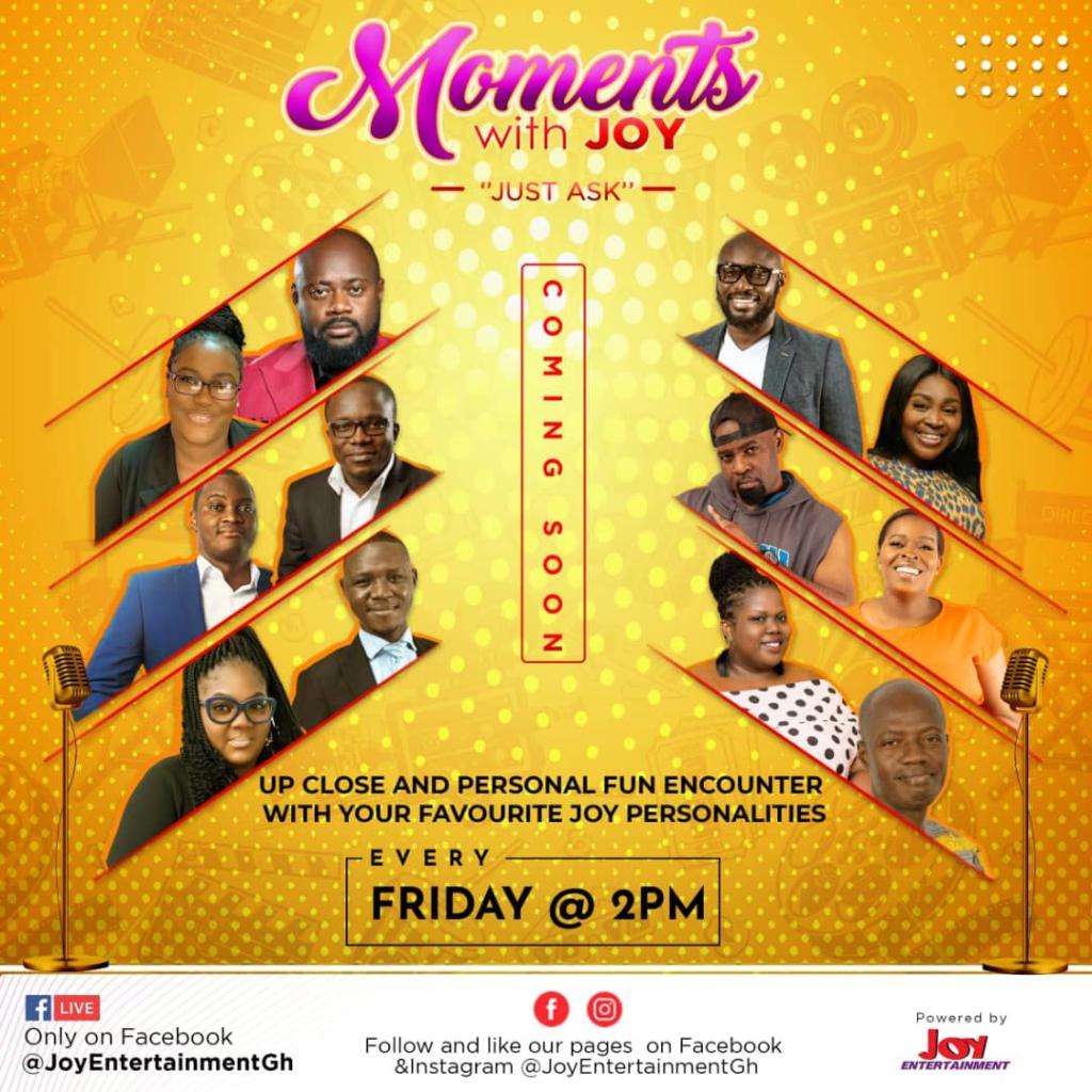 Joy Entertainment's KMJ to host 'Moments with Joy'