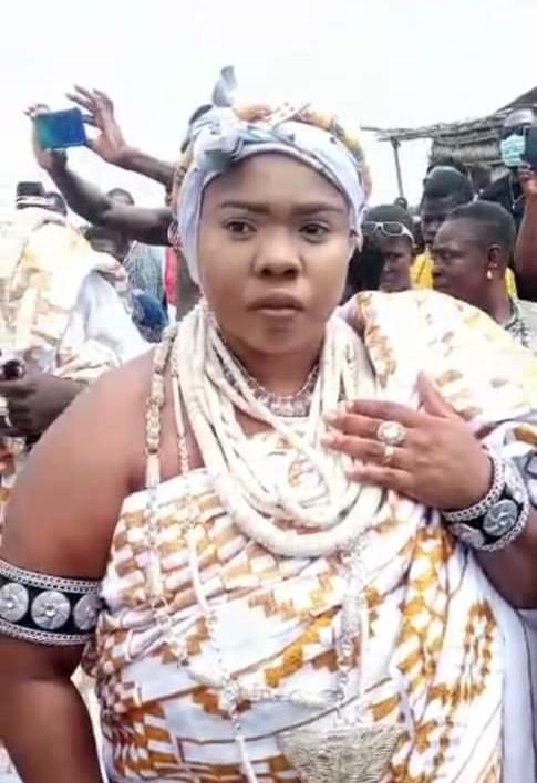 Torgbui Kadzahlo IV outdoored by Anlo Afiadenyigba
