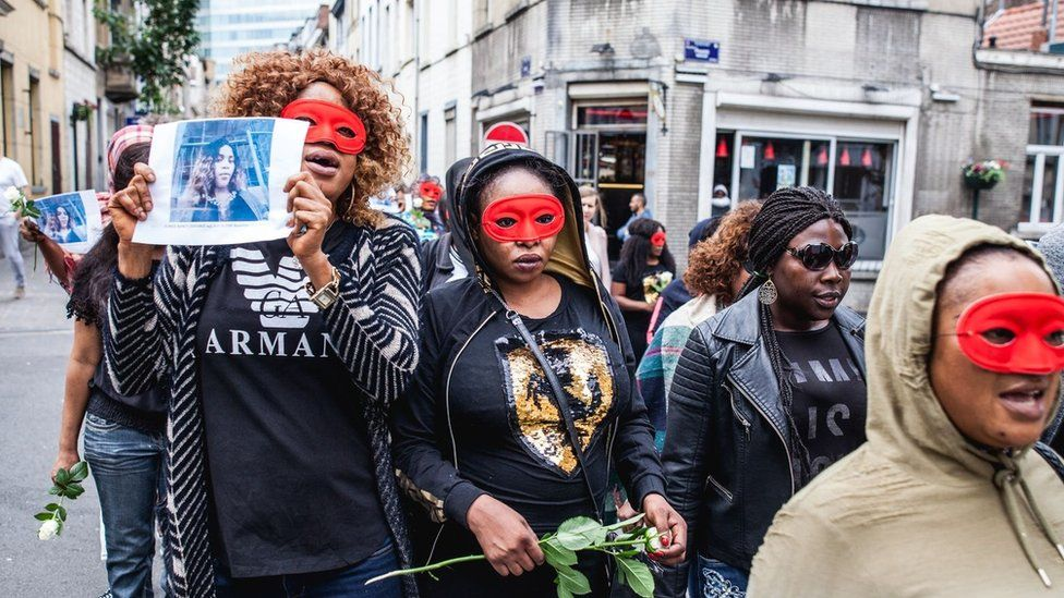 Brussels to name street after murdered sex worker Eunice Osayande