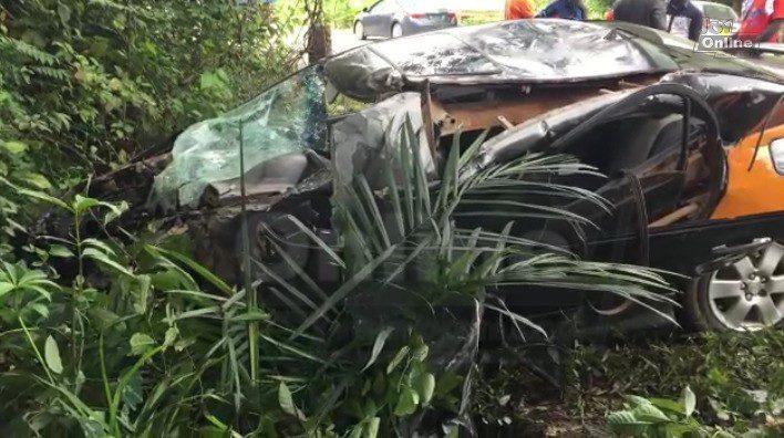 Driver dead, 4 injured in accident on Abura Dunkwa-Nyankomasi road