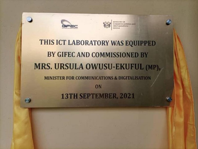Sefwi-Wiawso SHS gets ICT laboratory