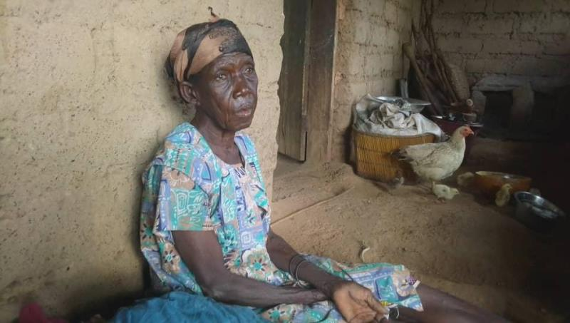 Upper West Floods: 86-year-old widow rendered homeless