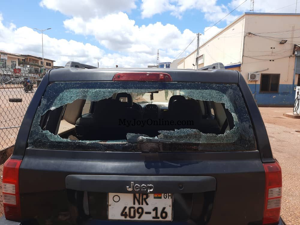 Tamale youth destroy NEDCo properties following police brutalities over illegal connection
