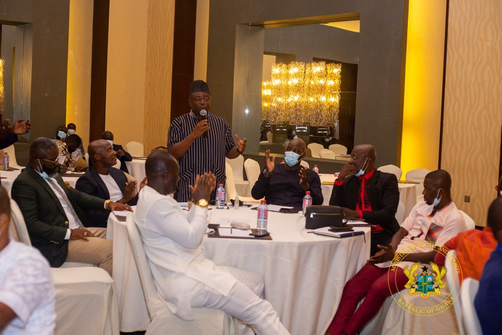 Sports Minister holds meeting with ex-footballers, assures of further engagements with retired sportsmen