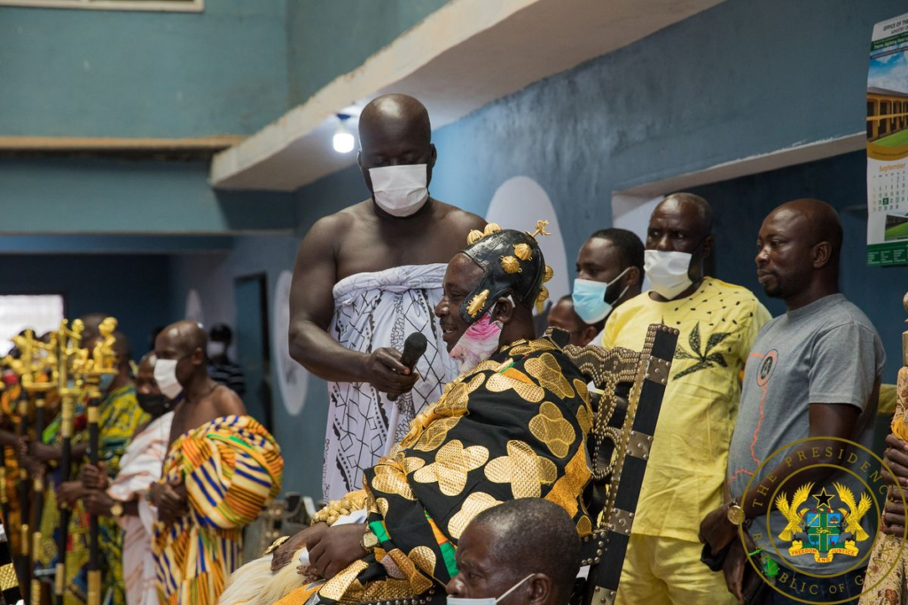 Akufo-Addo commissions new Western North RCC administration block