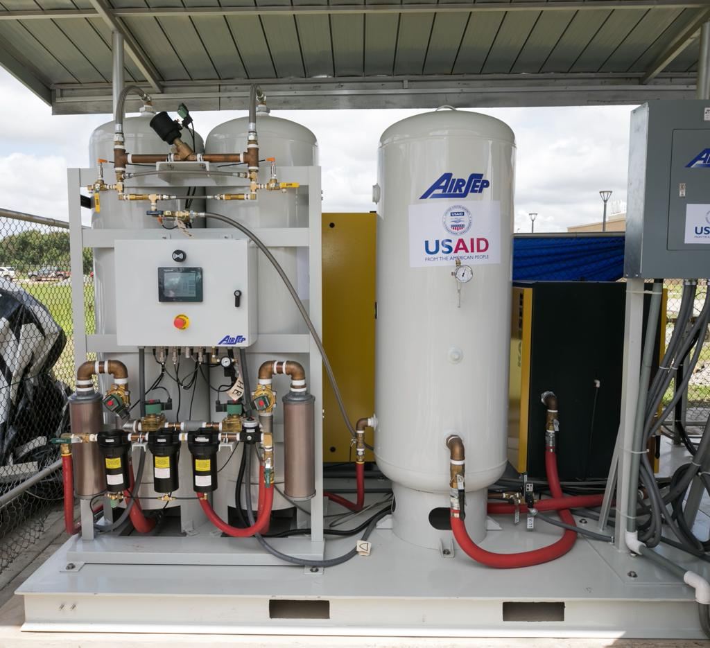 US government provides life-saving support to Ghana's Covid-19 response