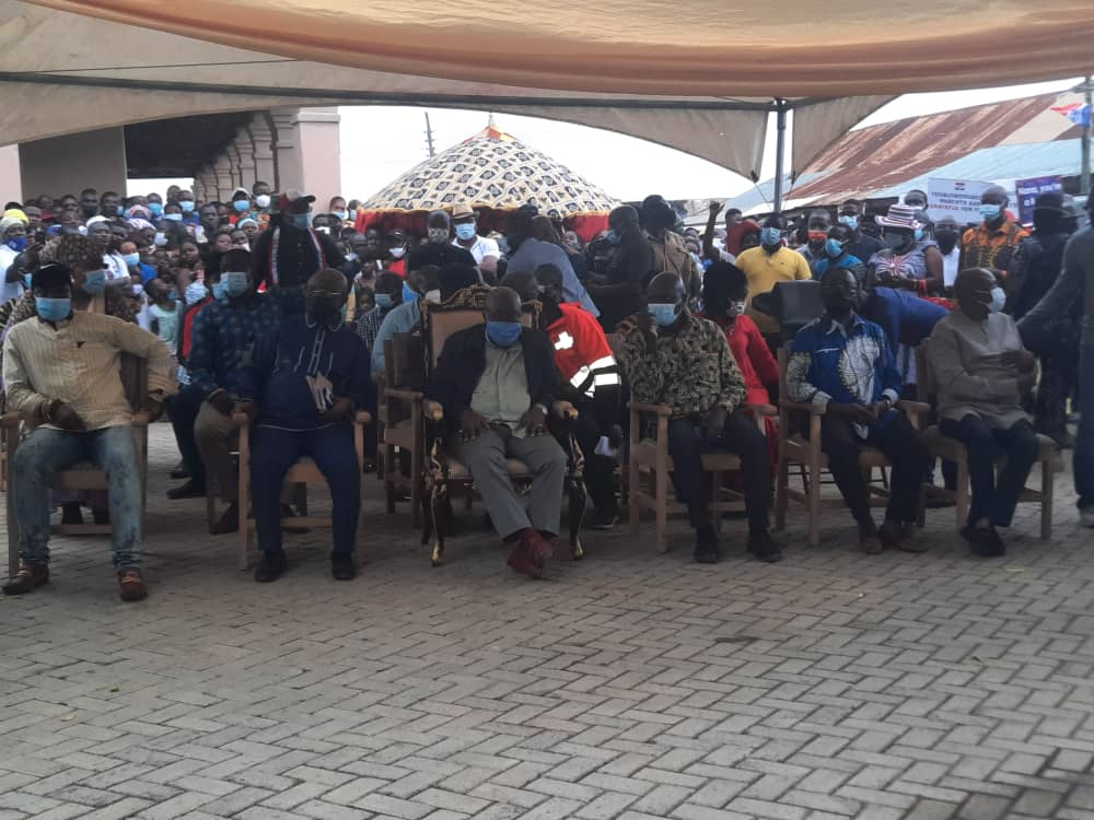 'Thank you for giving me John Peter Amewu' - Akufo-Addo to Hohoe residents