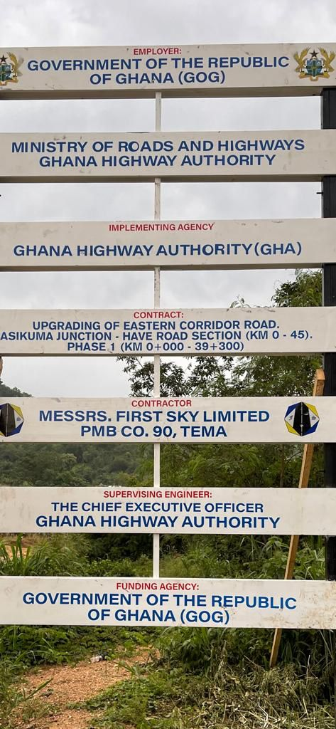 First Sky Limited awarded Asikuma-Have road contract - Akufo-Addo tells Volta residents