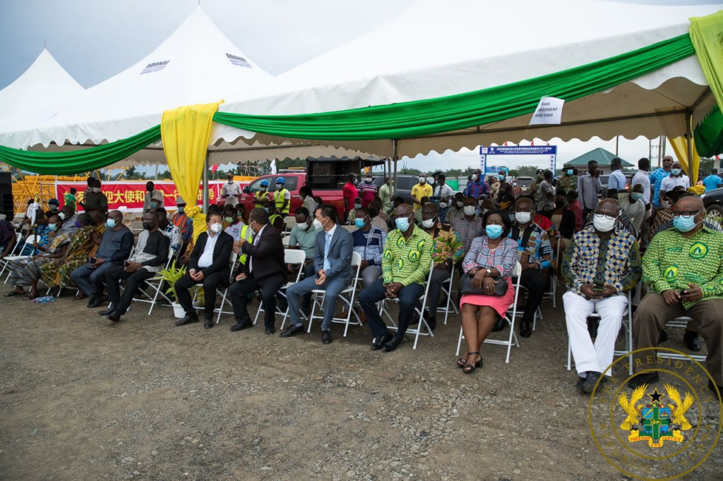 Akufo-Addo cuts sod for phase II of $60m UHAS expansion project in Ho