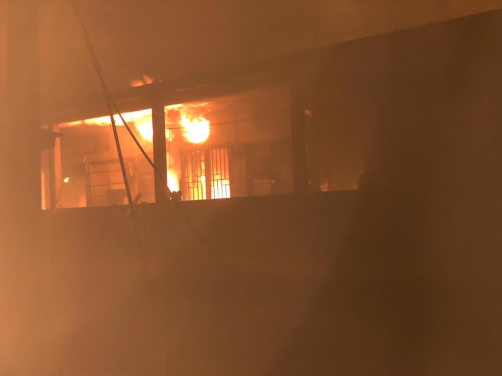 Fire guts Akyem Oda Central Market