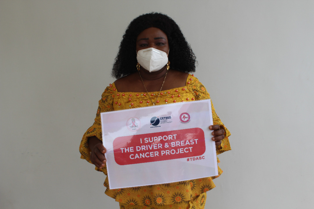 Centre for Transport Security Dialogue, Breast Care International launch 'Driver and Breast Cancer' campaign