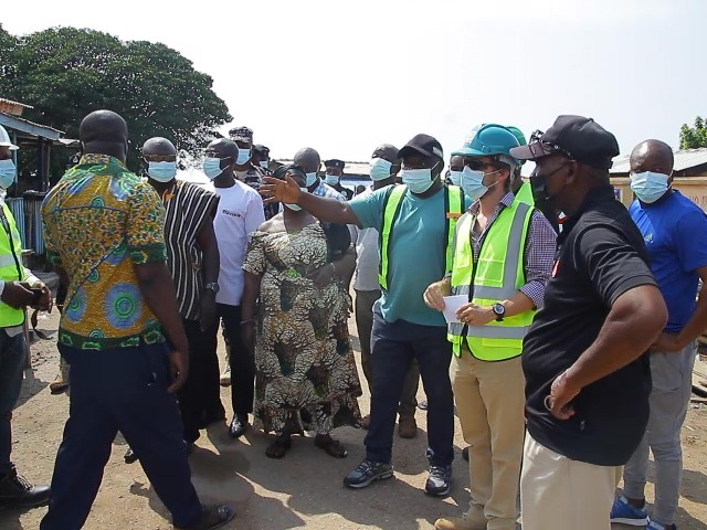 The Traditional Council of Edina gives the squatters at the site of the fishing port of Elmina 2 weeks to leave