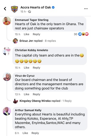 #Phobia110 trends as fans react to new Hearts of Oak jersey