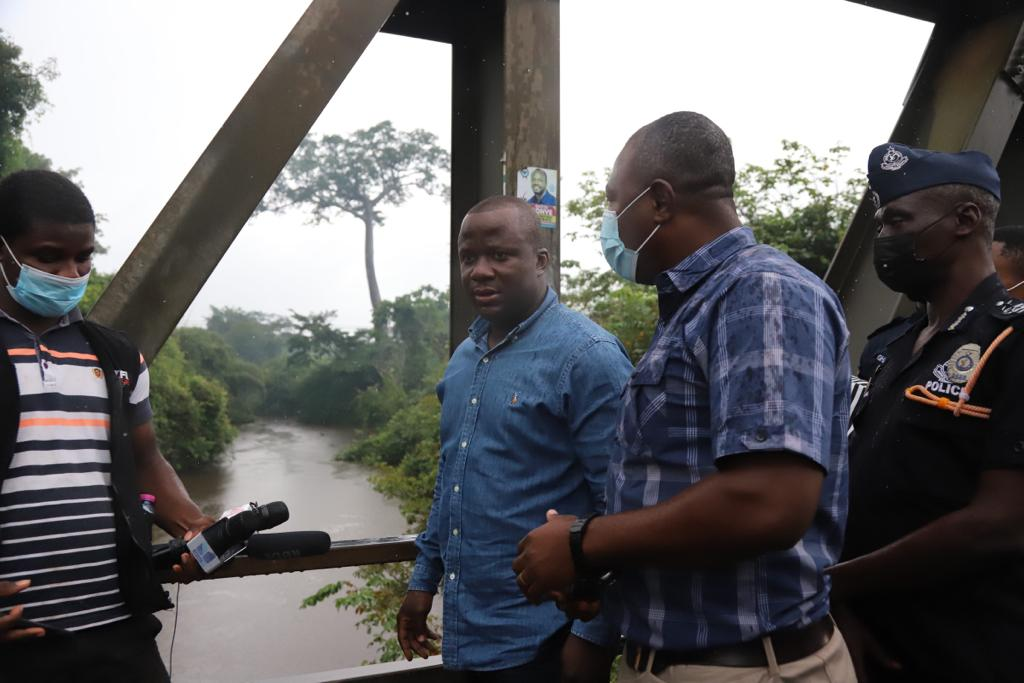 Tano River clearing up following efforts to halt illegal mining activities - Lands Ministry