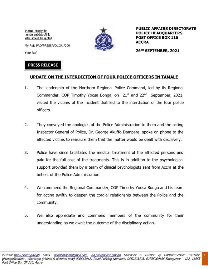 We're on the tail of culprits who destroyed NEDCo properties in Tamale - Police