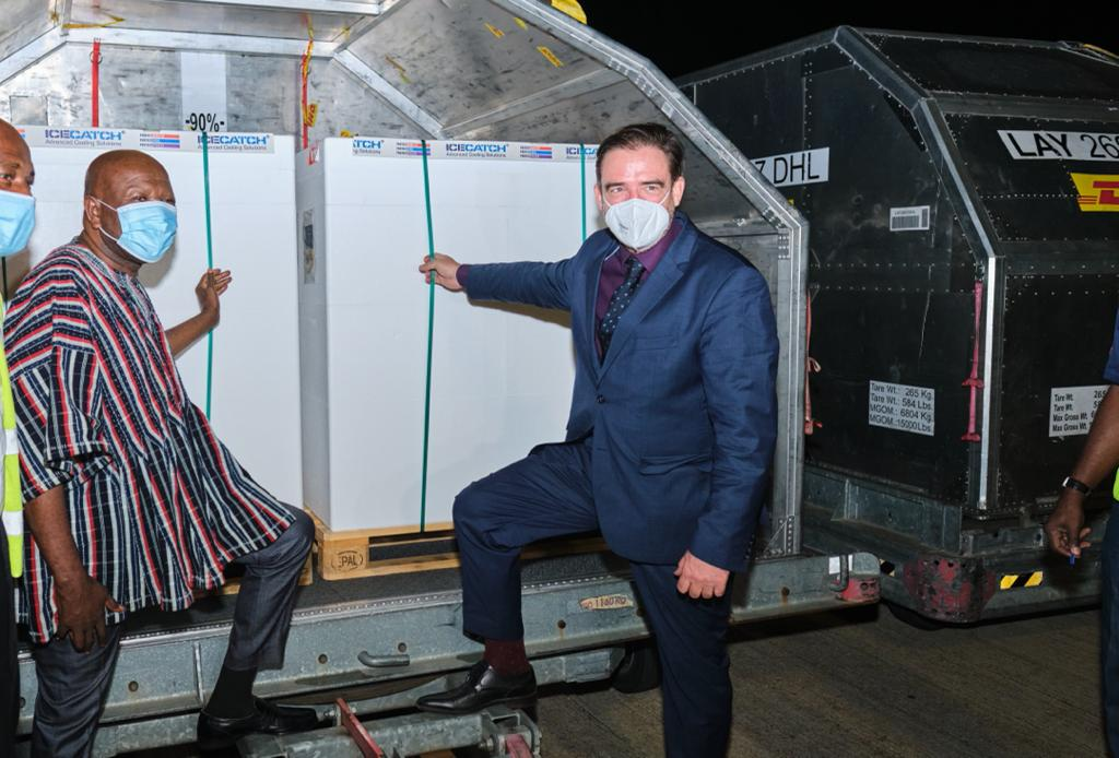 Government receives 1.5 million doses of AstraZeneca vaccines from Germany