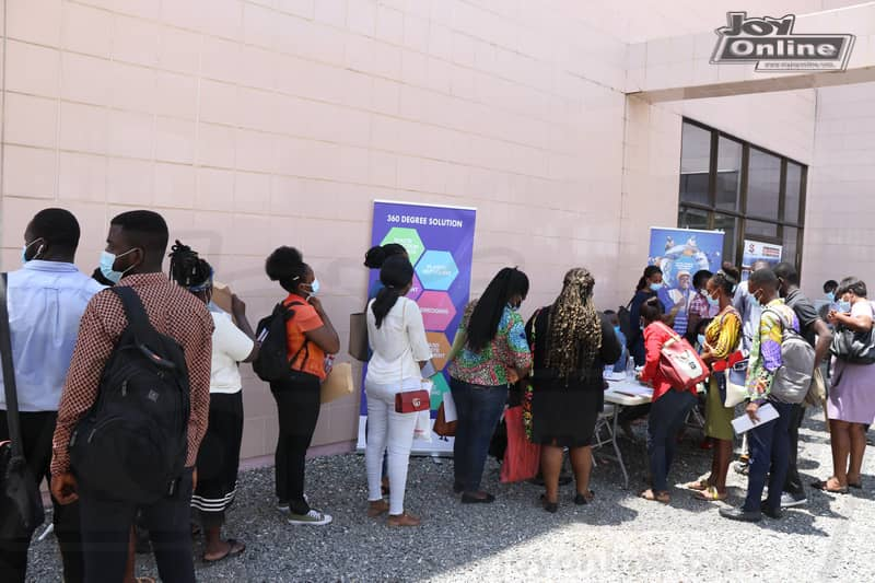 Photos: Day 2 of YEA 2021 Job and Career fair