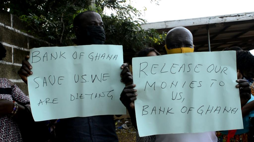 Customers of Diamond Winners Microfinance in Bolga distressed over locked up funds