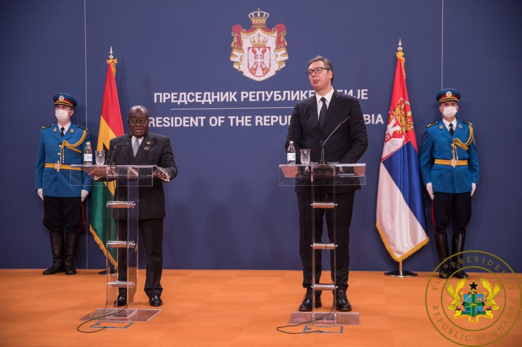 Akufo-Addo is one of the wisest in the world, a great erudite - Serbian President