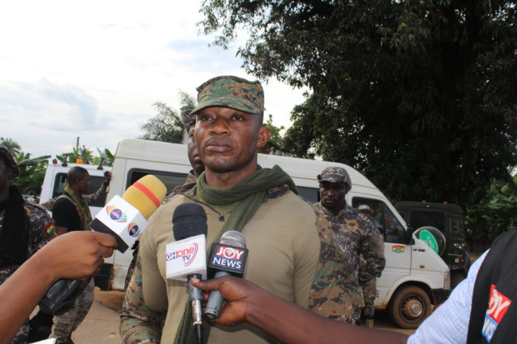 Small Scale Miners Taskforce arrest 13 illegal miners, destroys several mining equipment in the Eastern region