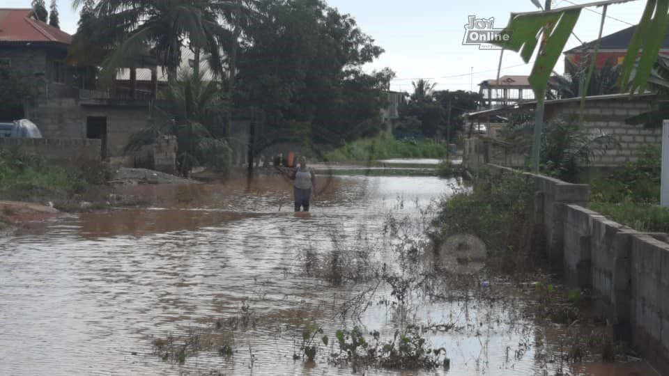 Floodwaters trap Oyarifa residents in their homes 5 days after heavy rains