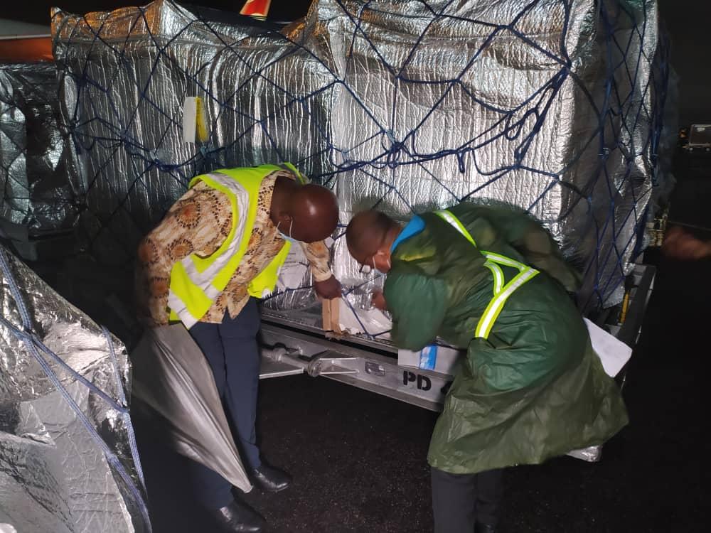 Covid-19: Ghana receives 530,000 doses of AstraZeneca vaccines