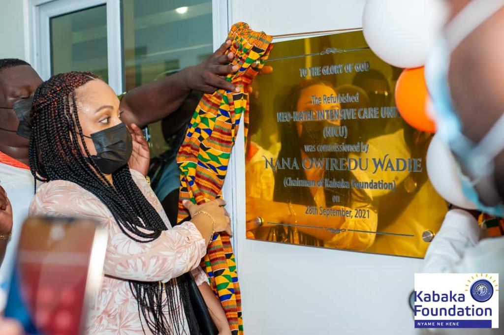 Kabaka Foundation rescues detained mothers, refurbishes neo and pre-natal wards at Koforidua Regional Hospital