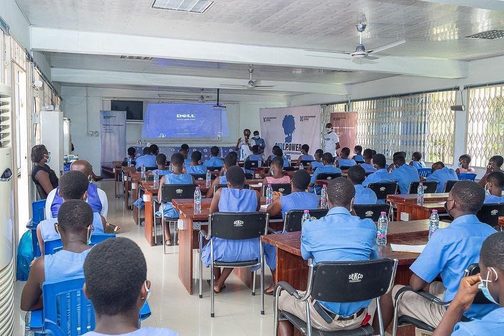 Karpowership Ghana organise un programme de mentorat STEM pour les étudiants du Sekondi College