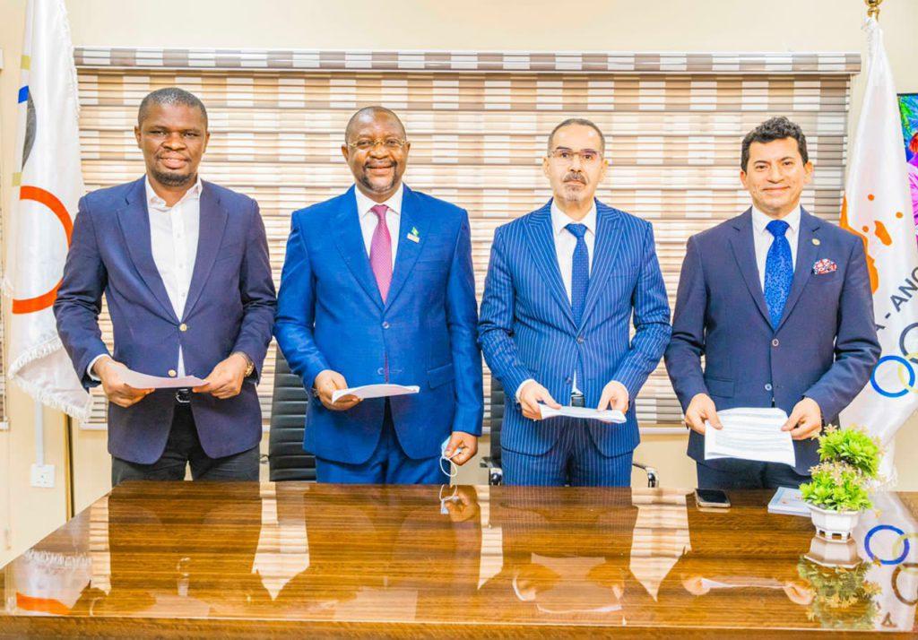 Le ministre des Sports signe un accord quadripartite pour le développement de la jeunesse et du sport à Abuja