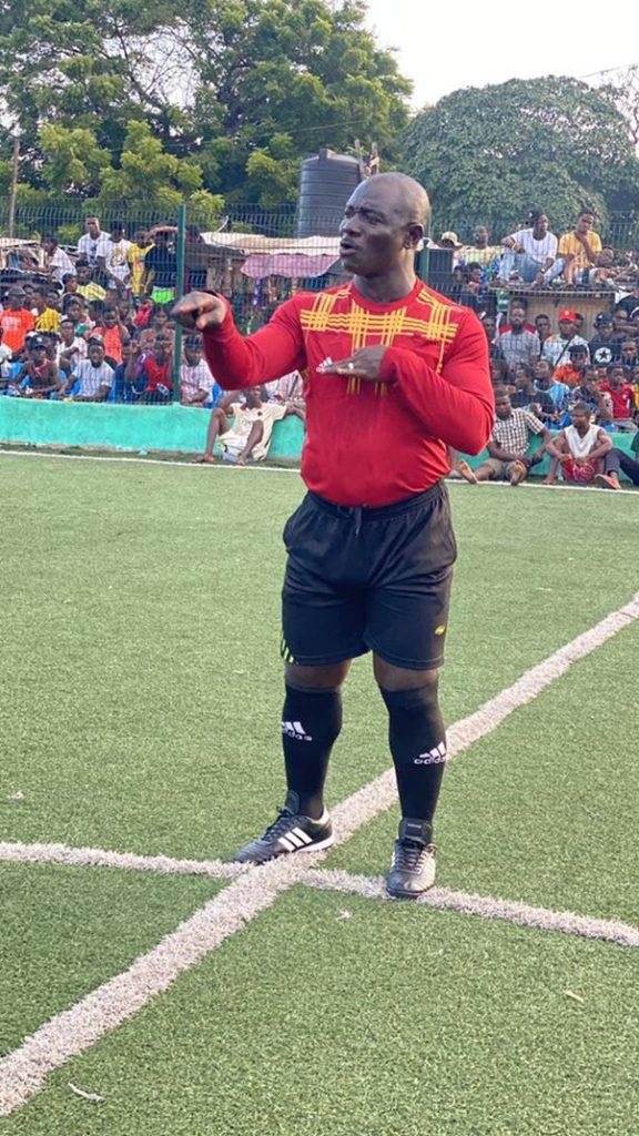 Ghana's dancing referee shining a light on Bukom's hidden stars