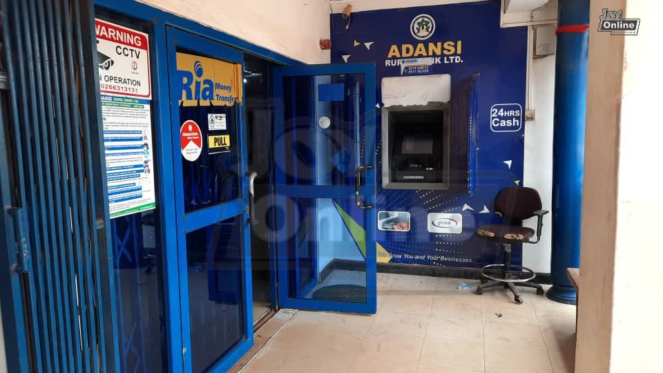 Suspected robbers kill security man in Adansi Rural Bank attack